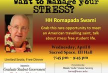 Academic Outreach / Srila #Romapada #Swami, who himself came in contact with #Krishna #conscious devotees as a college student, through his constant travels to #Universities around the world, has spearheaded the creation of numerous Krishna-conscious student organizations. In the parched desert of materialistic environment in today's Universities, these student groups truly serve as an oasis for the inquisitive minds.