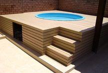 Záhrada a bazén