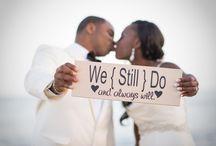 Vow Renewal Ideas / 10th Wedding Anniversary