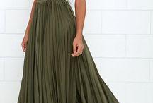 Maxi Skirts & Dresses