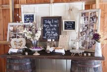 Country wedding ideas / country and western wedding