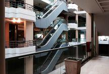 a dying shopping mall  / A dying shopping mall at Cholargos in Attica, Greece as an impact of the financial crisis