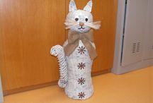 Papirove pleteni (pro) kočky a psi