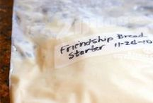 Amish Friendship Bread Starter & used