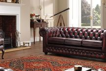 Chesterfield - Traditional Leather Furniture / Take a look at our range of Chesterfield traditional leather furniture. (Available in a variety of colours - please see the website for more options) - http://www.thomaslloyd.com/range/chesterfield/