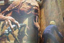 Star Wars Adventures of Luke Skywalker Book Art