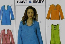 Sewing patterns - tops / by Susan White Lowenguth