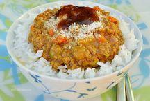 stir frys/curry