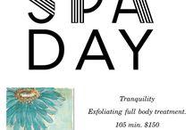 Day Spa: Facials and Massge