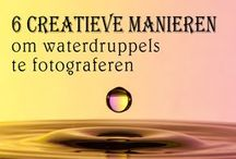 Waterdruppel fotografie
