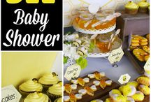 Baby reveal/shower ideas