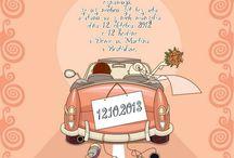 Svatební oznámení LarisDesign / Luxusní, kreativní i jednoduché svatební oznámení. Svatební oznámení od Laris Design uspokojí svou rozmanitou nabídkou i nárocné zákazníky. Široká nabídka, skvělé ceny