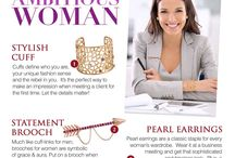 Style Tips / Discover the do's and don'ts, must-haves and other tips in choosing the right accessories to accent your look at work.