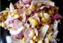 Saláták-Mártások-Krémek