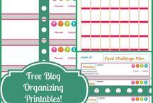 Blogger Organizational Tools