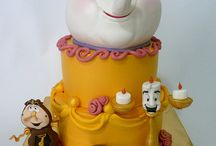 cake Beauty and the Beast - Kráska a zvíře