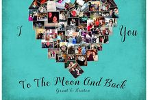 I Love You To The Moon and Back / I Love You to the Moon and Back - art, prints, canvas