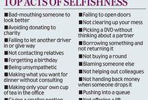 Selfishness
