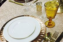 Showroom Displays / A collection of the table settings and displays we have in our showroom for your event inspiration!