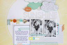 Скрап-странички. Скрапбукинг идеи / Scrapbook pages / Скрап-странички на различные темы, выполненные в различных стилях