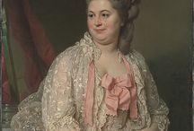 Interesting 18th Century Hair