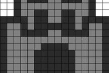 progé pixels art Minecraft