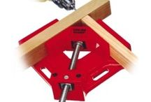 Clamps / Woodworking clamps hold it all together for you. Our selection of wood clamps and wood clamping accessories will give you the extra sets of hands that you need to secure your work piece or during the gluing process. In this category you can find a variety of bar clamps, fence clamps, straight edge clamps, gear clamps, toggle clamps, face clamps, bench dogs or bench holdfasts as well as many other clamping devices to help you put your woodworking projects together.