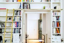 HOMEY SLICE / Cool spaces, great bookshelves. Welcome homey.