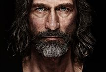 forty something fashion  / long haired beardy greying  / by stephen roe
