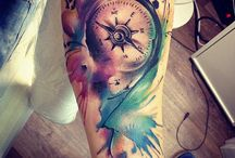 tatto aquarelle