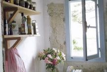 Kjøkken interiør