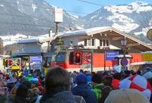 Hahnenkamm Races in Kitzbuehel / Winter Games Sports