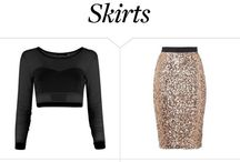 Sparkly skirts