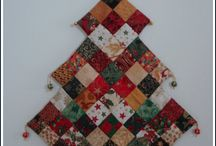 Christmas Quilts / Quilts and stuff for christmas seasons