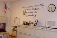 School Nurse Office Decor