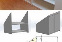 Einbauschrank Dachschräge