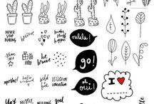 Dessin, emoji, note