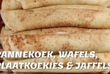 Stroop pannekoek en wafels