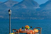 Dream Destinations / Dreamy destinations for afternoon tea.