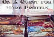 Protein Bars / We all need a little snack before that killer workout!