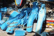 Perahu Naga / Randoan Perahu Naga, Pembuatan dilakukan di area Cilacap, Jawa Tengah. Pemesanan dilayani untuk seluruh tempat di Nusantara, dalama maupun luar negeri. Pembuatan menggunakan standar nasional maupun internasional, dan juga melayani sesuai dengan pesanan secara khusus.