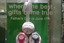 Father's Day display