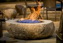 Fire Pit Manalapan / by Waterfalls Fountains & Gardens Inc.
