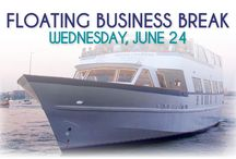 Floating Business Break 2015 / Chamber members relaxed and networked aboard the Marika cruise ship for a three-hour trip along the Hudson River featuring food catered by Smoky Rock BBQ and music by Mad Mike and Friends DJ Service.
