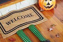 Herbst- und Halloween-Deko