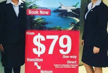 Our Students journey at Kiwi Regional Airlines / 4 Hamilton Campus students who have finished their Travel & Tourism Diploma have started with Kiwi Regional Airlines!
