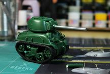 Meng Model - M4a1 Sherman walker project