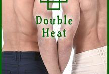Double Heat (Twin Ties #3), Lynn Kelling / Gay Erotic Romance. Double Twincest. Taboo. Kink. Series