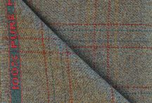 Strathspey Tweed / Our stock Strathspey tweed patterns featuring Gunclubs, Herringbones, Russell Glen Urqhurts, Windowpanes and Glenchecks. Available to buy by the metre from www.knockandowoolmill.co.uk