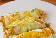 zucchini enchalada
